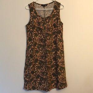 New without tags linen blend dress sz M